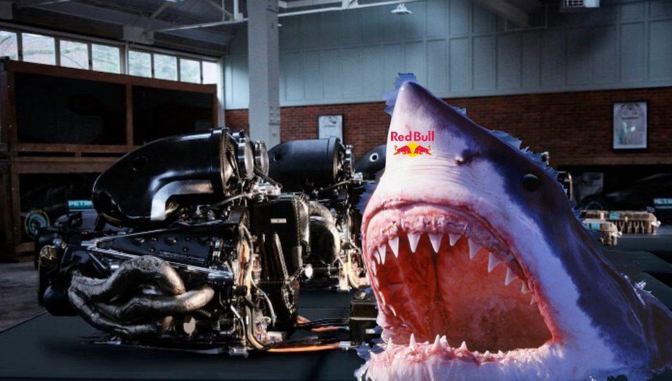 Red Bull bijt zich vast in krachtige Mercedes motor