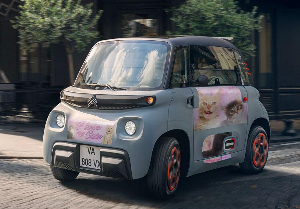 Je kunt nu kneiterleuke liveries krijgen voor je Citroën Ami