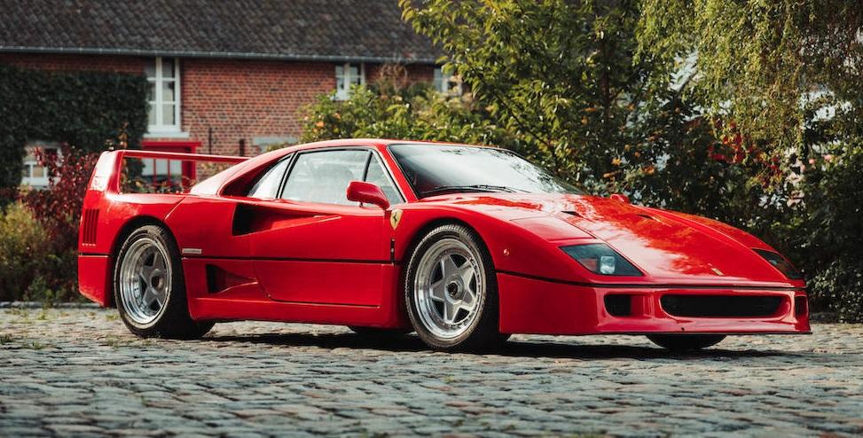 Piekfijne Ferrari F40 moet flink bedrag opleveren