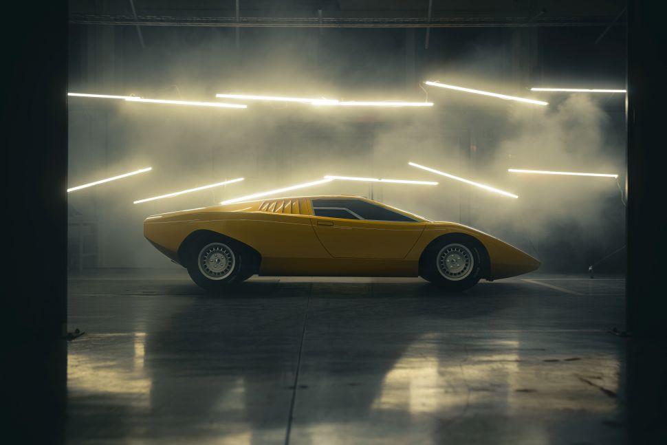De enige echte Lamborghini Countach is terug