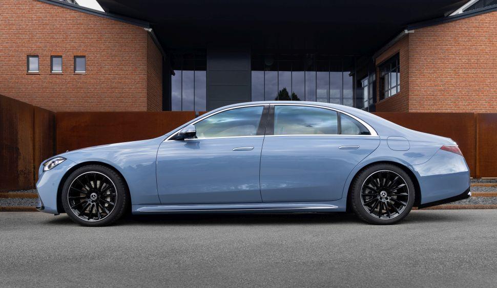 Welke kleur wil jij op een Mercedes S-Klasse?