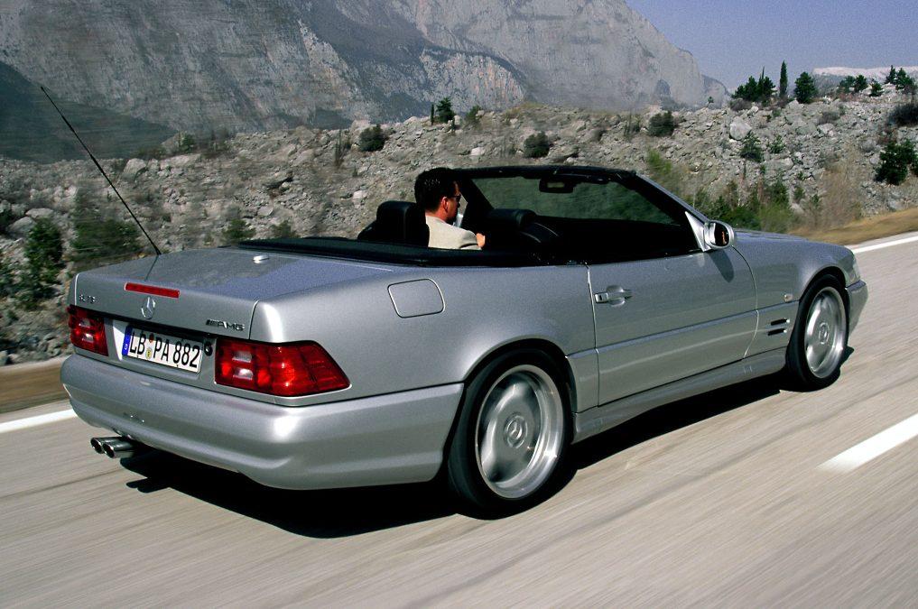 Mercedes SL in AMG-trim: allemaal op een rij!